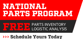 National Parts Program - Free Parts Inventory and Logistic Analysis - Schedule Yours Today